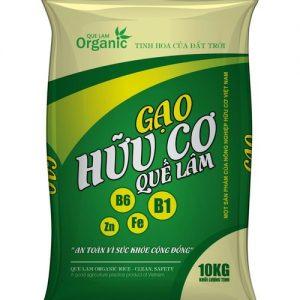 đại lý gạo hữu cơ quế lâm